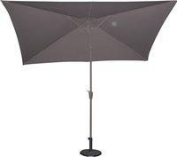Aluminium parasol 2 x 3 m taupe