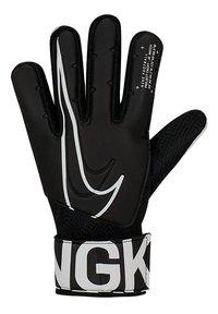 Nike keeperhandschoenen Junior Match zwart-Vooraanzicht