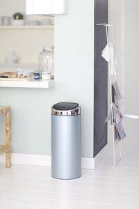 Brabantia afvalemmer Touch Bin 30 l metallic mint-Afbeelding 2