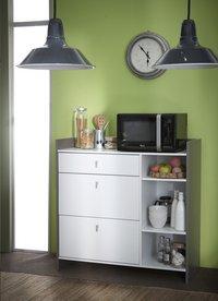 Demeyere Meubles Keukenkast Battery wit decor-Afbeelding 1