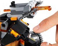LEGO Ninjago 70654 Le véhicule de combat Dieselnaut-Image 2