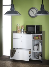 Demeyere Meubles Keukenkast Battery wit decor-Afbeelding 2