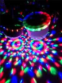 ibiza led lichteffect 2-in-1 ufo/astro-Afbeelding 1