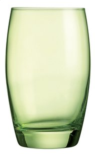 Arcoroc 6 verres à eau Salto 35 cl vert