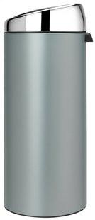 Brabantia afvalemmer Touch Bin 30 l metallic mint-Afbeelding 4