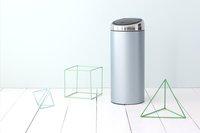 Brabantia afvalemmer Touch Bin 30 l metallic mint-Afbeelding 3