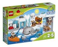 LEGO DUPLO 10803 Poolgebied-Vooraanzicht