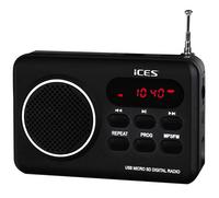 iCES radio IMPR-112 zwart