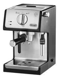 De'Longhi Machine à espresso ECP35.31 noir/gris argenté-Côté droit