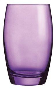Arcoroc 6 verres à eau Salto 35 cl mauve