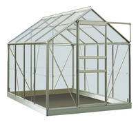 ACD Serre Intro Grow Ivy 5 m² aluminium-Avant