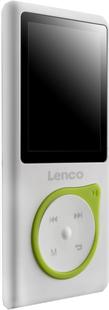 Lenco mp4-speler Xemio-657 4 GB groen-Linkerzijde