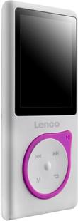 Lenco lecteur MP4 Xemio-657 4 Go rose-Côté gauche