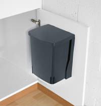 Brabantia Poubelle encastrable Built-in Bin 10 l black-Avant