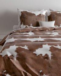 Zo! Home Dekbedovertrek Zoran brown katoen 260 x 220 cm-commercieel beeld