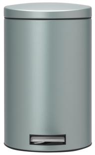 Brabantia pedaalemmer 12 l metallic mint