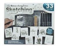 Royal & Langnickel tekenkoffer Sketching Made easy-Vooraanzicht