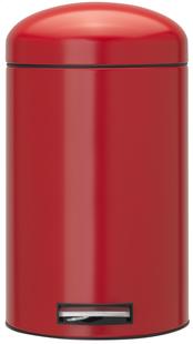 Brabantia pedaalemmer Retro Bin Passion Red 12 l