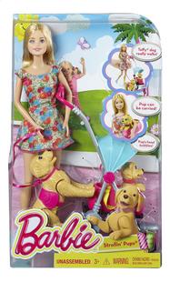 Barbie speelset Hondenwandeling-Vooraanzicht