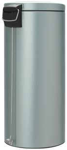 Brabantia pedaalemmer 30 l metallic mint-Achteraanzicht
