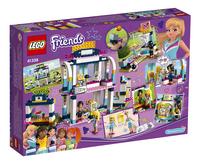 LEGO Friends 41338 Stephanie's sportstadion-Linkerzijde