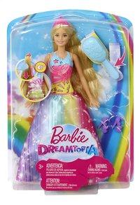 Barbie mannequinpop Dreamtopia Prinses borstel en straal-Vooraanzicht