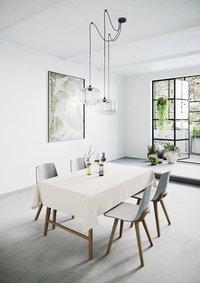 Mistral Home Tafellaken Uniline ecru-Afbeelding 2