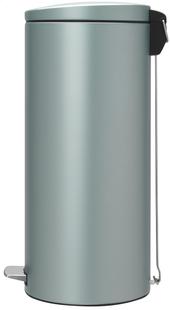 Brabantia pedaalemmer 30 l metallic mint-Linkerzijde