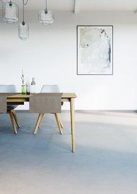 Mistral Home Tafellaken Uniline walnut 160 x 270 cm-Afbeelding 2
