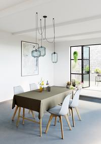 Mistral Home Tafellaken Uniline walnut 160 x 270 cm-Afbeelding 5