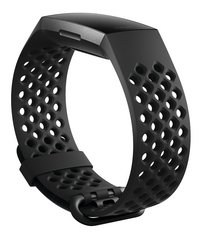Fitbit armband sportband voor Charge HR 3 L zwart-Artikeldetail