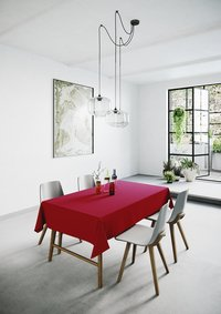 Mistral Home Tafellaken Uniline rood 140 x 240 cm-Afbeelding 6