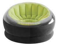 Intex opblaasbare zetel Empire zwart/lime