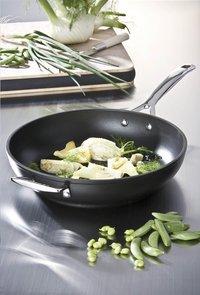 Le Creuset wok Les Forgées 26 cm-commercieel beeld