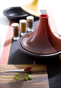 Le Creuset tajine rouge cerise-Image 1