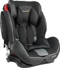Dreambee Autostoel Essentials IsoFix Groep 1/2/3 zwart/grijs-Artikeldetail