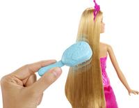 Barbie mannequinpop Dreamtopia Prinses borstel en straal-Afbeelding 1