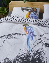 Covers & Co Dekbedovertrek Born to be wild multi katoen 240 x 220 cm-Afbeelding 2