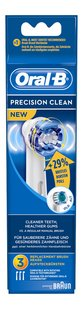 Oral-B 3 brossettes de rechange Precision Clean
