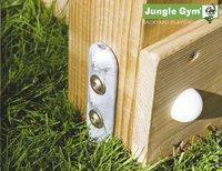 Jungle Gym tour de jeu en bois Tower avec toboggan jaune-Détail de l'article