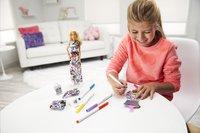 Barbie poupée mannequin Crayola fashion-Image 4