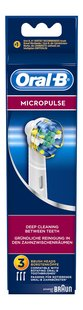 Oral-B 3 brossettes de rechange Floss Action