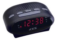 iCES wekkerradio ICR-210 zwart