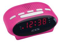 iCES wekkerradio ICR-210 roze