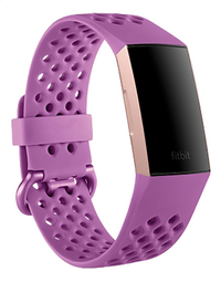 Fitbit armband sportband voor Charge HR 3 S violet-Artikeldetail