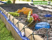 Jungle Gym tour de jeu en bois Club avec toboggan bleu-Détail de l'article