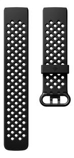 Fitbit armband sportband voor Charge HR 3 L zwart-Vooraanzicht