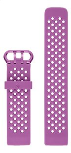 Fitbit armband sportband voor Charge HR 3 L berry-Vooraanzicht