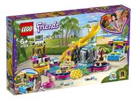 LEGO Friends 41374 Andrea's zwembadfeest-Linkerzijde