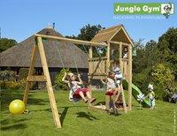 Jungle Gym portique avec tour de jeu Club et toboggan vert